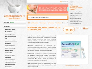 Bepanthen eye bez-recepty24.pl